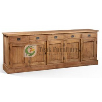 Long Plain Sideboard