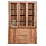 Contemporary Cabinet Whit Glass