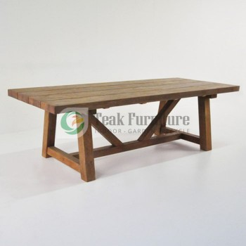 Trestle Dinning Table