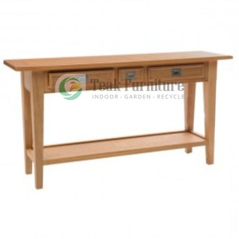 Console Side Table 3 Drw