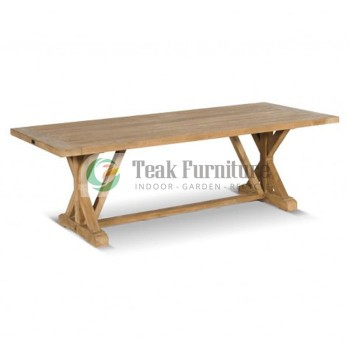 Crossleg Dinning Table