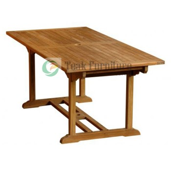 Square Teak Garden Table