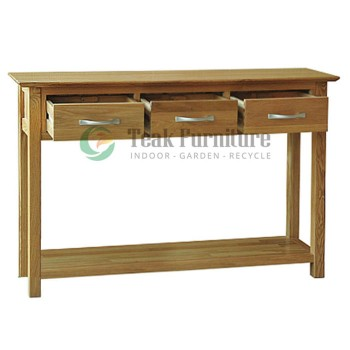 Minimalis Console Whit 3 Dwr