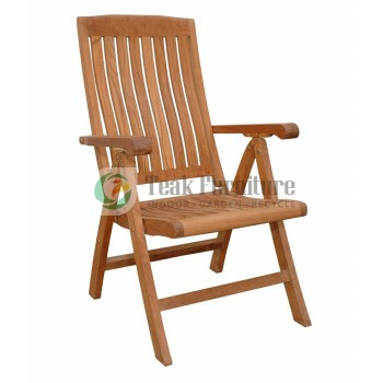 Teak Garden Reclining Chair
