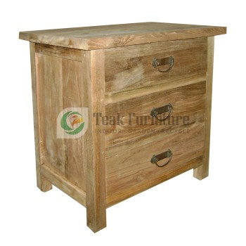 3 Drw Bed Side Chest