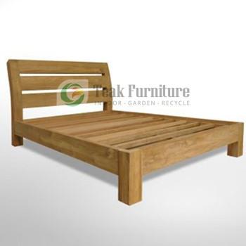 Modern Slat Bed