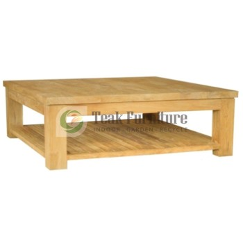 Coffee table whit shelves