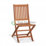 Straight Folding Chair