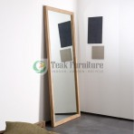 Teak Mirror
